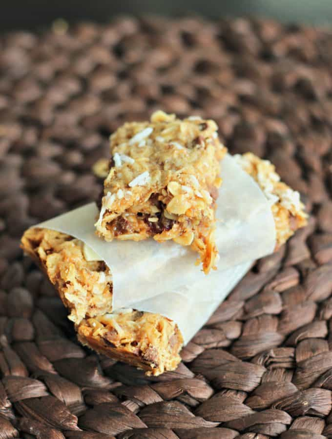 PB Granola Bars | www.thereciperebel.com