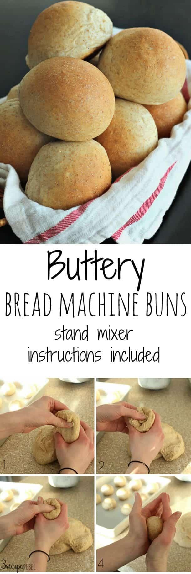 Buttery Whole Wheat Bread Machine Rolls The Recipe Rebel