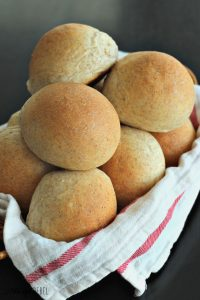 Buttery (Whole Wheat) Bread Machine Rolls