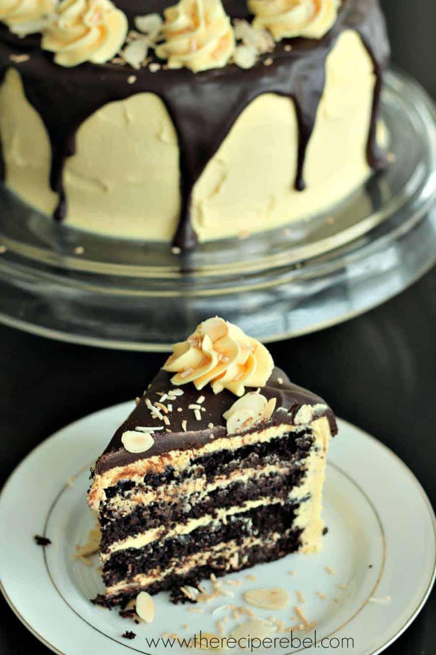 Nanaimo Layer Cake The Recipe Rebel
