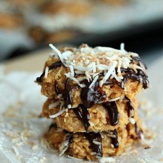 No-Bake Samoa Cookies