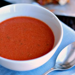 20 Minute Creamy Tomato Soup from Scratch