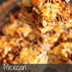 Mexican Scalloped Potatoes