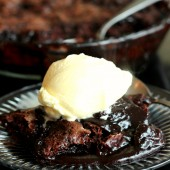Grandma's Hot Fudge Sundae Cake