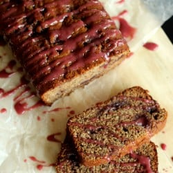 PB & J Banana Bread