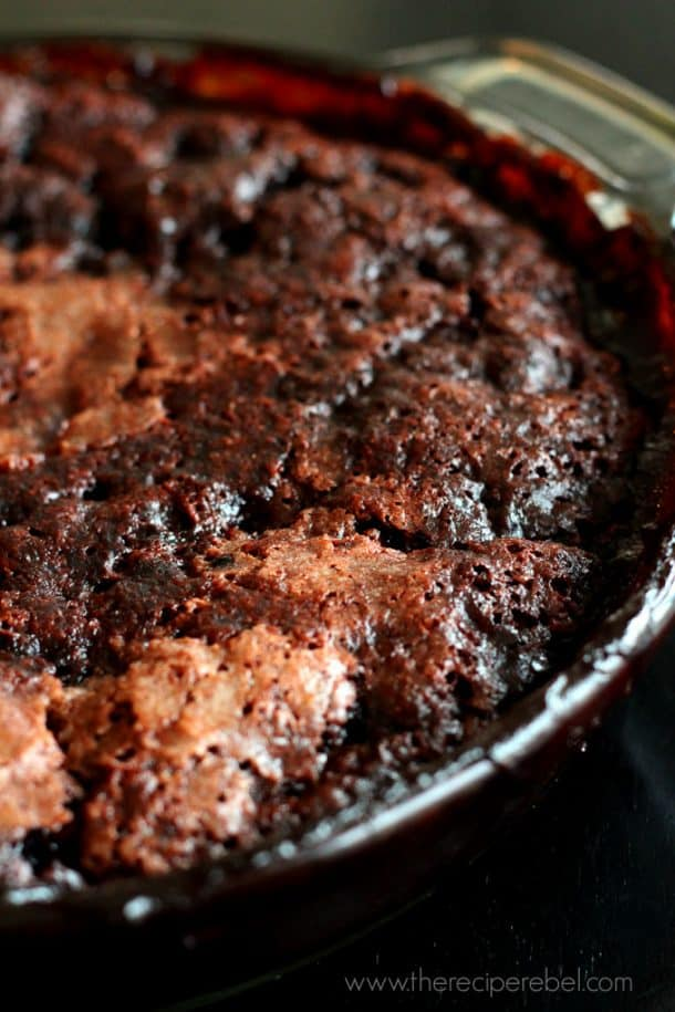 Grandma's Hot Fudge Sundae Cake www.thereciperebel.com -2