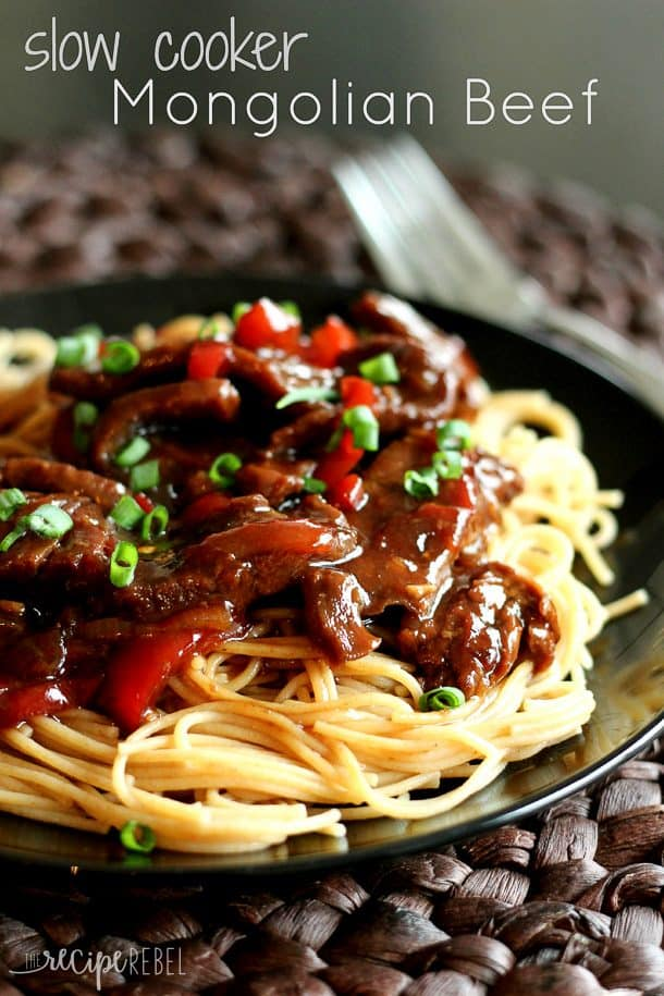 Slow Cooker Beef Pot Roast: Mongolian Beef Slow Cooker