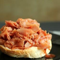 BBQ Ham Sandwiches