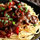 {Slow Cooker} Mongolian Beef