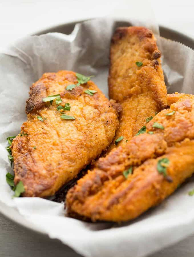 "The Best Oven Fried Chicken (KFC Copycat ""Fried"" Chicken)"