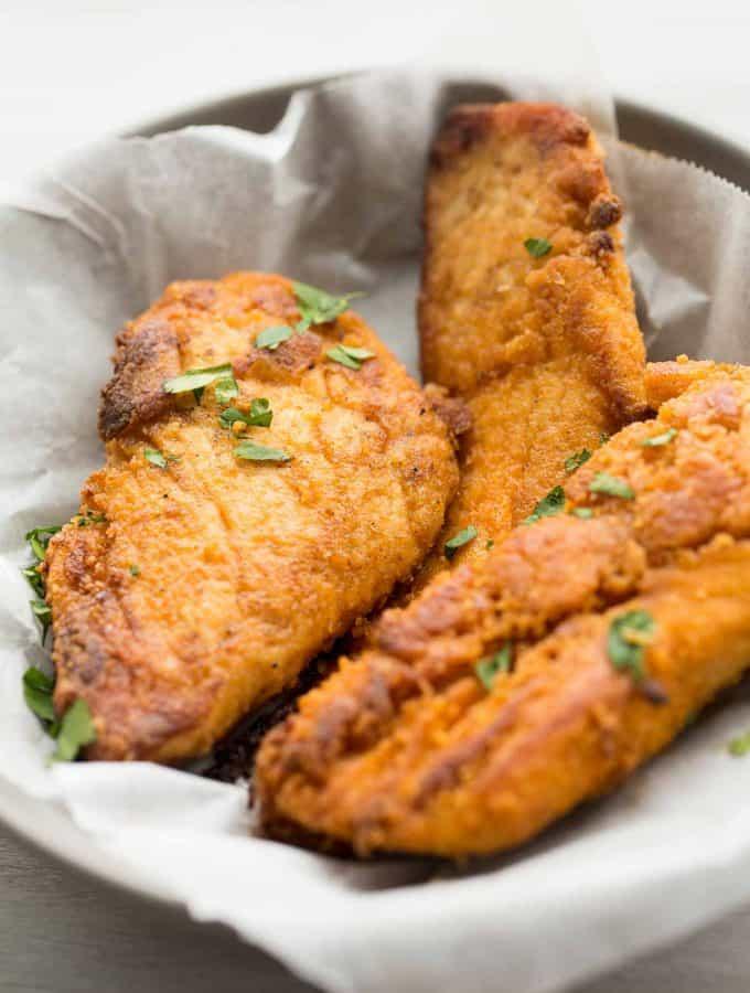 """The Best Oven Fried Chicken (KFC Copycat """"Fried"""" Chicken)"""
