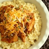 BBQ Chicken Mac & Cheese