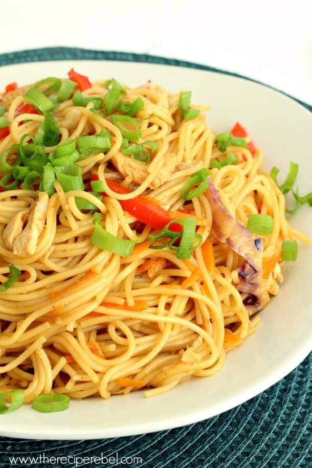 Mango Chili Chicken Pasta 1