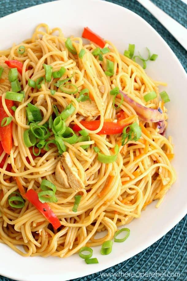 Mango Chili Chicken Pasta 2