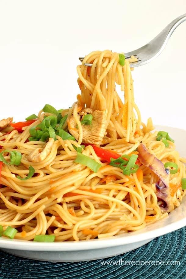 Mango Chili Chicken Pasta 3