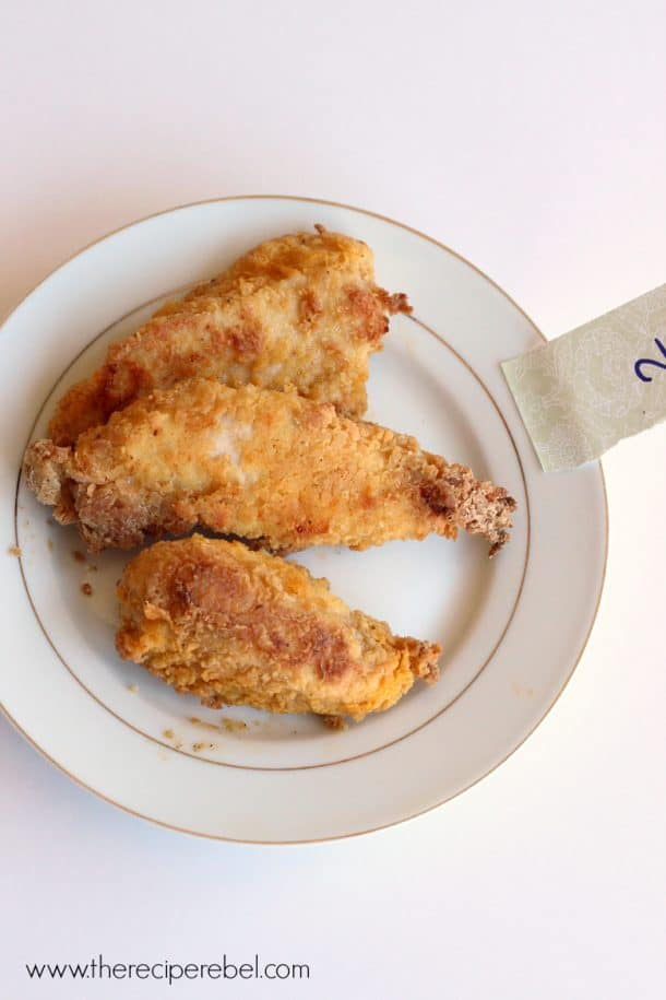 Oven Fried Chicken Experiment 2