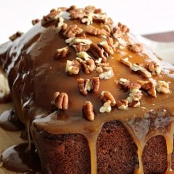 Praline Glazed Apple Bread 2