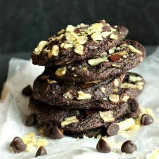 Double Chocolate Potato Chip Cookies
