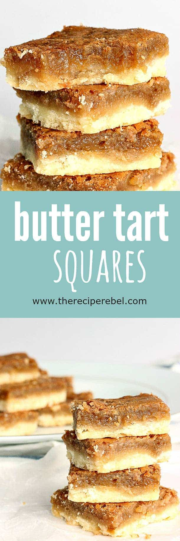 Ooey, gooey, sugary, buttery filling on top of a buttery shortbread crust -- so easy and SO good! The shortcut to good butter tarts.