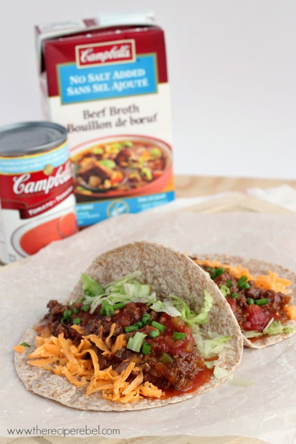 Classic Weeknight Tacos: an unexpected twist on classic tacos. Super simple and so full of flavour! www.thereciperebel.com