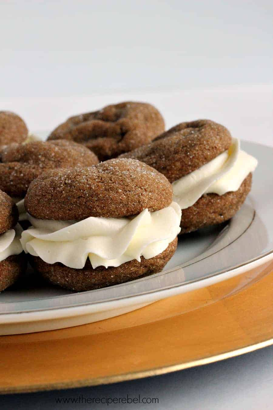 White Chocolate Gingersnap Oreos The Recipe Rebel