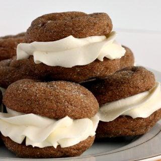 White Chocolate Gingersnap Oreos