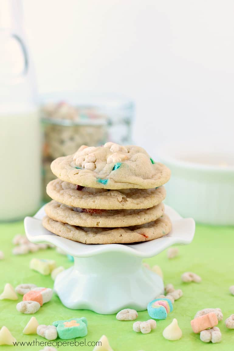 White Chocolate Lucky Charms Cookies Recipe Video The