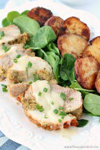 Cornbread-Stuffed Turkey Roast and No-Fail Roasted Potatoes