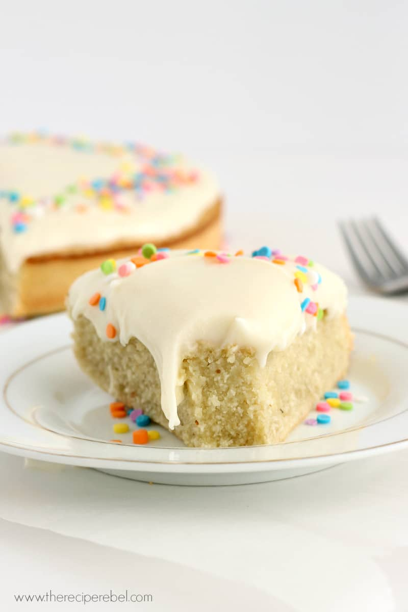 Gluten Free Coconut Cake With Cream Cheese Frosting