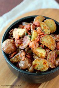 Warm Maple Bacon Potato Salad