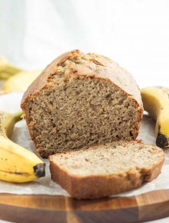 Classic Banana Bread: simple, no mixer, no frills banana bread that's super moist! The only recipe you'll need! www.thereciperebel.com