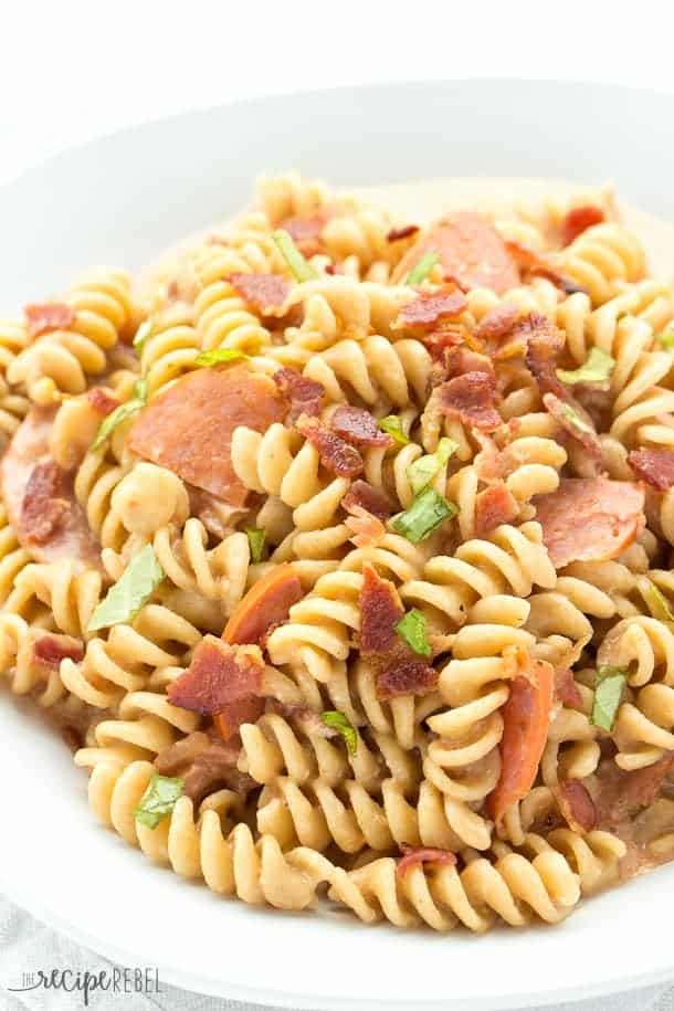 This is my first example of a pasta dish you can make using the guide ...