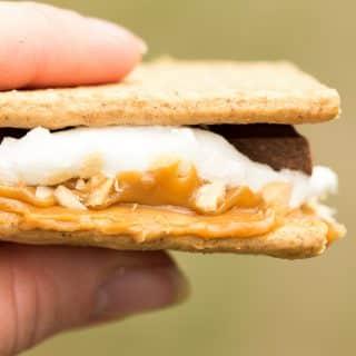 Caramel Peanut Butter S'mores