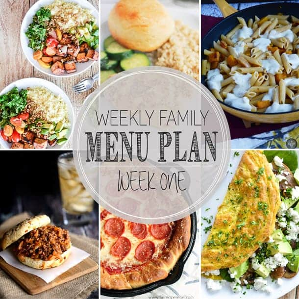 Weekly Menu Plan for August 2-8: Find all of the recipes you need for the week!