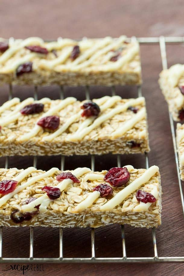 Granola Bars: A super simple back to school snack or an easy no bake ...
