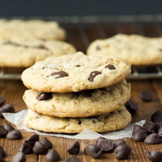The Best Oatmeal Peanut Butter Chocolate Chip Cookies