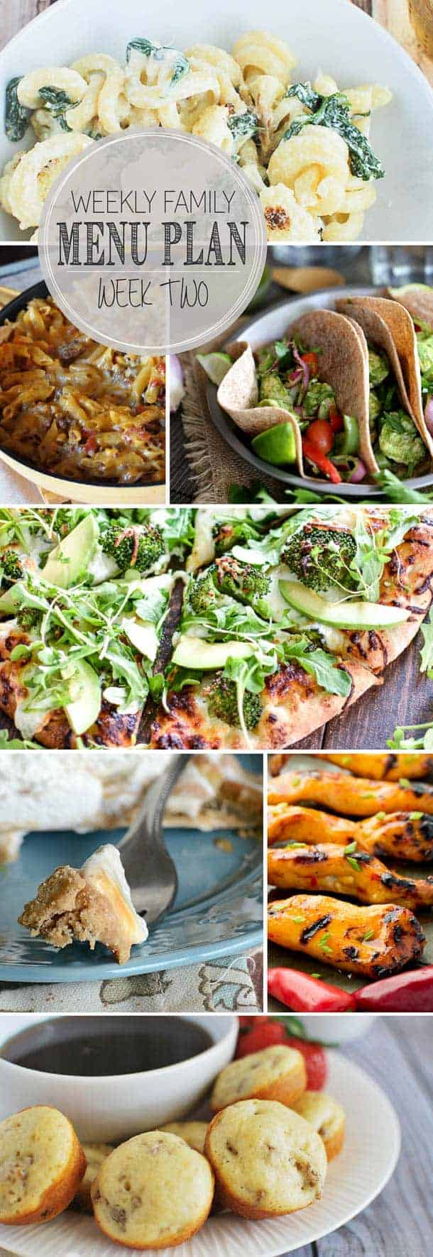 Find everything you need to plan out your week! Easy, family-friendly meals that everyone will love!