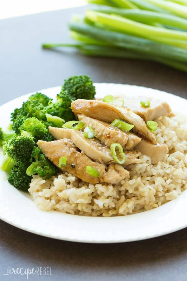 Slow Cooker Sweet and Spicy Coconut Chicken