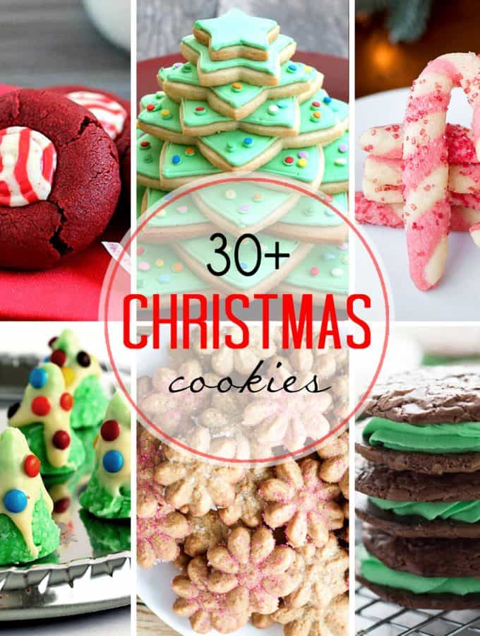 30+ Christmas Cookie Recipes!