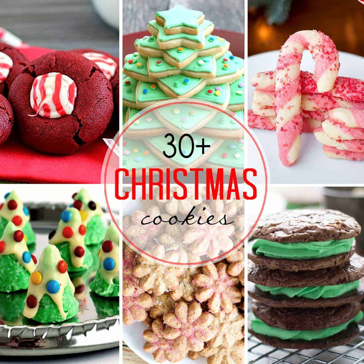 30 Christmas Cookies For Your Holiday Baking