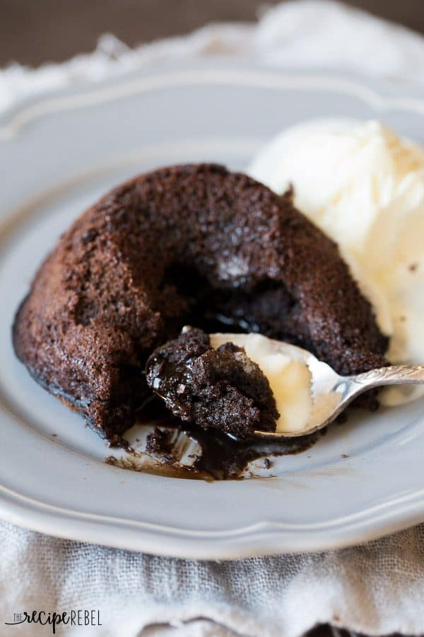 "Flourless Chocolate Lava Cakes and a review of ""The Ultimate Cookbook"" from Canadian Living"