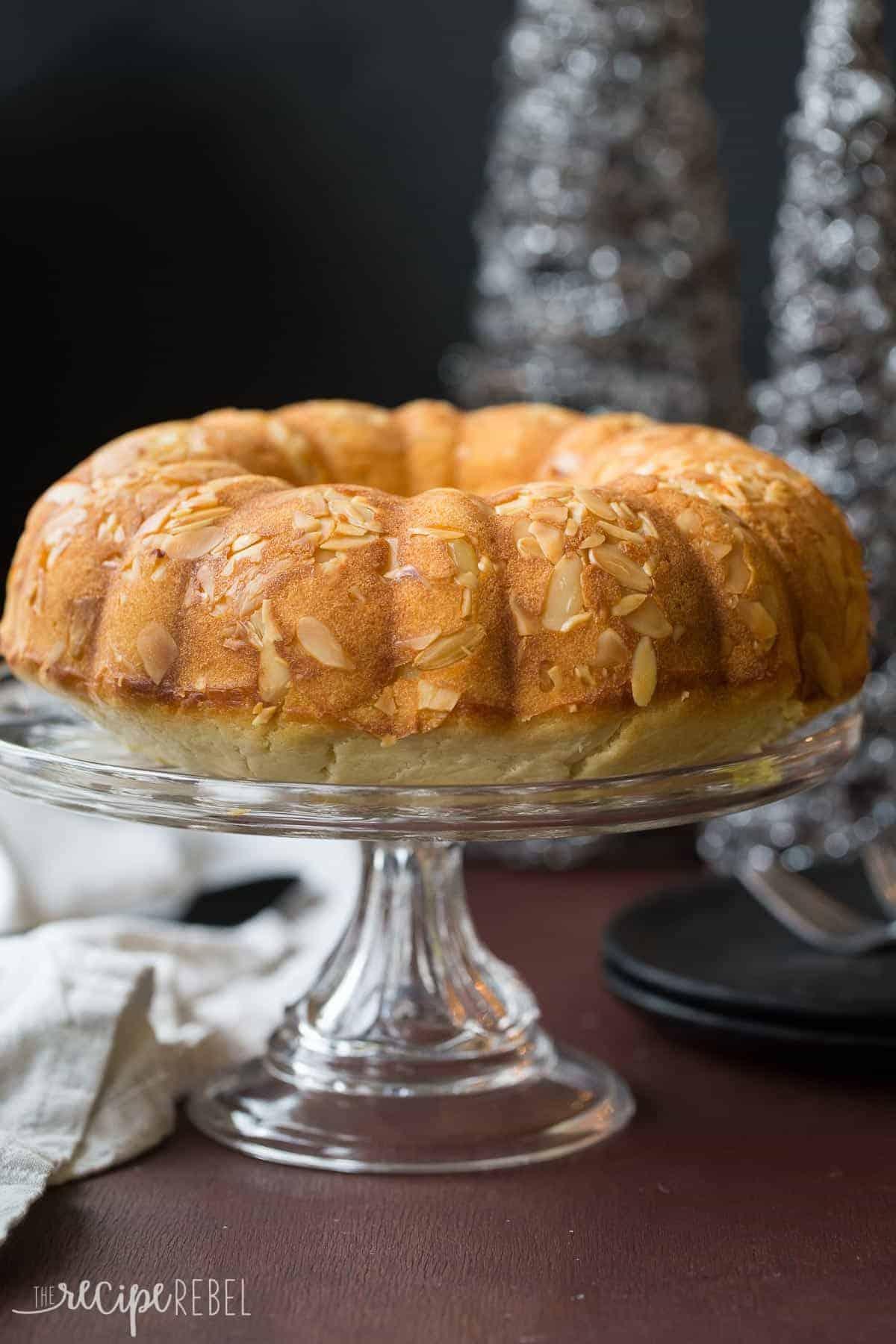 Moist Vasilopita Cake Recipe