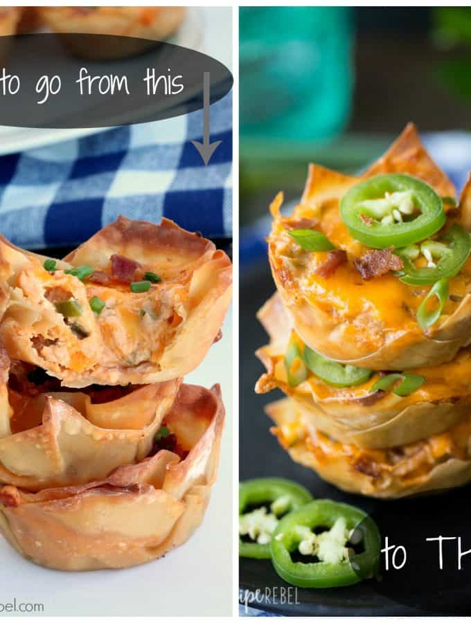 How to Make Food Look Good Preview: BBQ Chicken Jalapeno Cupcakes