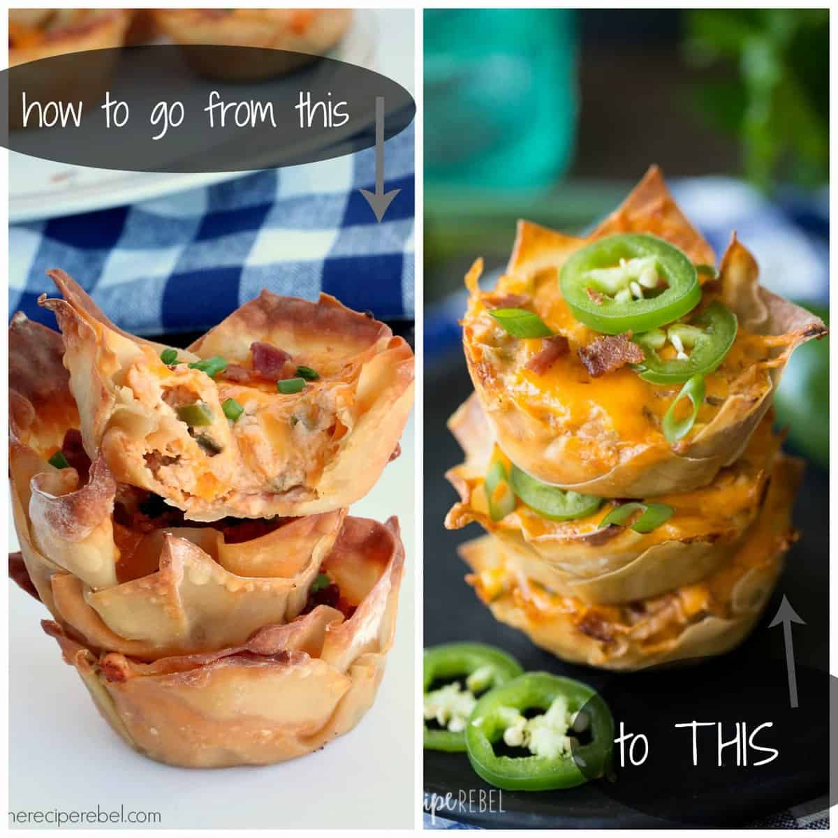 Good Meals To Cook: How To Make Food Look Good: Jalapeno Popper Cupcakes