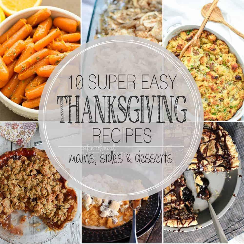 Thanksgiving Menu Plan www.thereciperebel.com (2 of 2)
