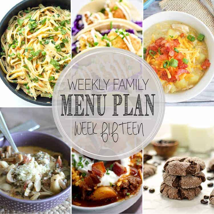 Weekly Menu Plan 15 www.thereciperebel.com (1 of 1)-2