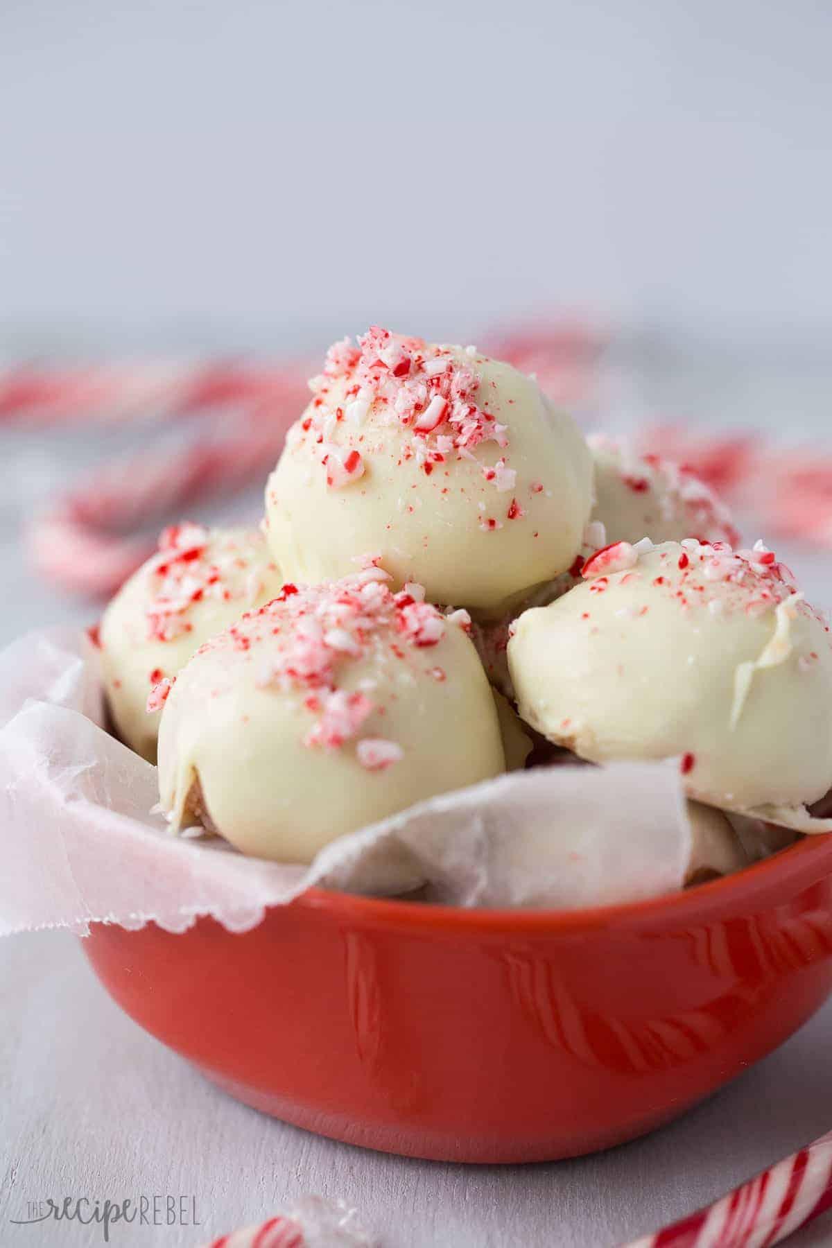 No Bake White Chocolate Peppermint Cheesecake Recipe