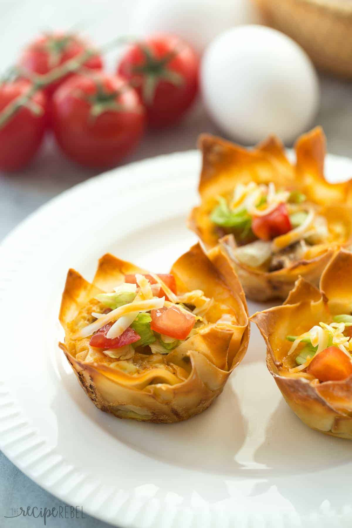 These Mini Mexican Wonton Quiche are simple to make and perfect for breakfast, brunch, or as appetizers! Most of the prep can be done ahead so you can relax and enjoy your holidays :)