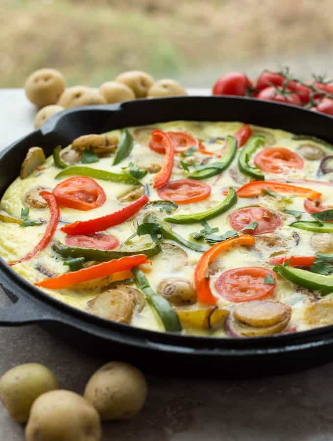 Spanish Tortilla (Spanish Potato Omelette)