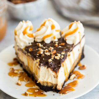 turtle cheesecake bite